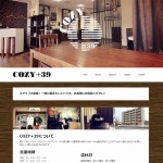 理容室向けホームページ制作実績(COZY+39様)